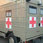 Ambulanza 40.10 WM Croce Rossa Italiana