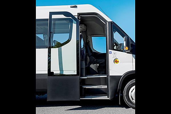 Daily Line passengers door opened